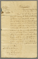 1845 Copy of Sir Charles Grays Despatch of 29th Nov to Lt Col Torrens (docket title).