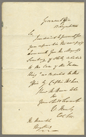 13 Aug. 1846 Wm Hanley to HK, cover letter for above.