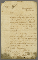 1839 Copy of a despatch from the Marquis of Normanby to Governor General Sir E. I. MacGregor Dated Downing Street 31st Feby (docket title).