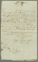 15 Augt 1846 Copy of letter to Mr Hanley (docket title).