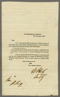 1839 Wm Hanley Colonl Secretary 27 Nov on subject of Poor Law Commissions Book (docket title)