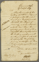 1839 J. B. Jennings <Acting Colonial Secretary> Govt Office 27 Sept Recd 29 Sept (docket title).