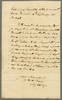 1840 Copy of a Despatch from Sir E I MacGregor Governor Genl (docket title).