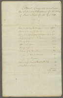 1841 Government statement of Ways and Means for the present year (docket title).