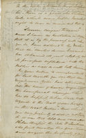 Hampton Cour, 11 July 1837. ALS To the Editor of the United Service...
