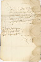 17 June 87 From Mr Carmichael Rec'd ye 7 Aug (docket title)