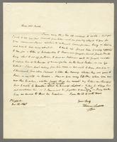 "Playford (Ipswch), 12 June 1841. ALS to ""John Scoble Esqr. At the..."