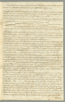 Col. Martin's proposals for surrender of his lease of Barbuda. Addressed to