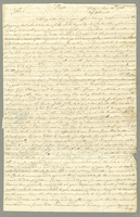 3 manuscript letters to Sir William Codrington (1719-1792), concerning plantation matters, legal actions and movements, and reports from North America. 7 1/2 pp. Antigua, June 10, 1780; December 8, 1781; July 29, 1790.