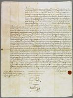 General Lamberts bond for performance of Covenants - Dated 15 May 1721 (docket title).