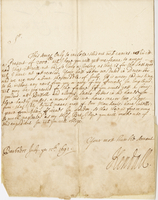 Letter to Blathwayt, Barbados, 15 July 1692