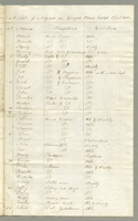 A list of Negroes on Georges Plain Estate 1st Jany 1800. The register lists 250 slave by name, occupation and physical condition. Exact location of the Estate has not been identified. 8 pp. 32.5 cm. January 1, 1800.