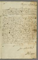 Letter to Blathwayt, Barbados, 13 Aug. 1692