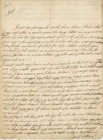 Letter to Blathwayt, Barbados, 23 July 1696, Drpt from Col. Russel (docket title)