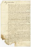 1685. Christopher Jeaffreson to Major MacArthur