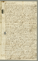 A Quaker merchant, William Graham writes about the slave revolt and business in Antigua. May 29, 1738. 2 pp., 30 cm.