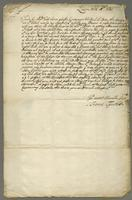 Letter to Blathwayt, London, 26 March 1681