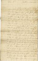 Letter to William Plaxton, Barbados, 3 Sept. 1723