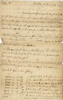 Letter to William Plaxton, Barbados, 26 Nov. 1723