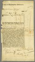 Nevis and St. Christophers Debentures, 3 July 1725