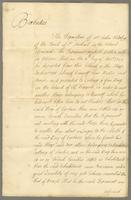 Copy of a Deposition of Mr. Jno. Ridley In the Letter of the Lds. Commrs. of Trade of Febry. 1th 1707/8. In the D. of Newcastle's May 16. os 1728 (docket title)