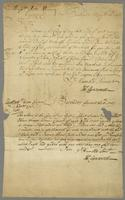Letters to John and Thomas Eyres, Barbados, 8 May and 6 Aug. 1707