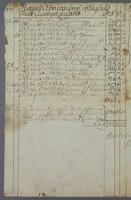 Duplicate of Barbados Accott Currtt dat: 2 Septemb 1708 (docket title)