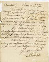 Solly, Samuel, fl. 1753. Boston, 17 Sept. 1753. ALS to Hugh…