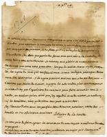 Martinique, 8 Dec. 1761. ALS to Pocquet de Puilhery