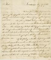 London, 27 May 1766. ALS to Montgomery and Wentworth